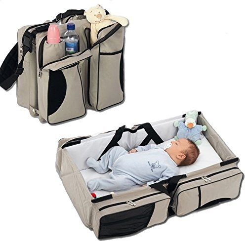 Baby diaper bed mummy bag