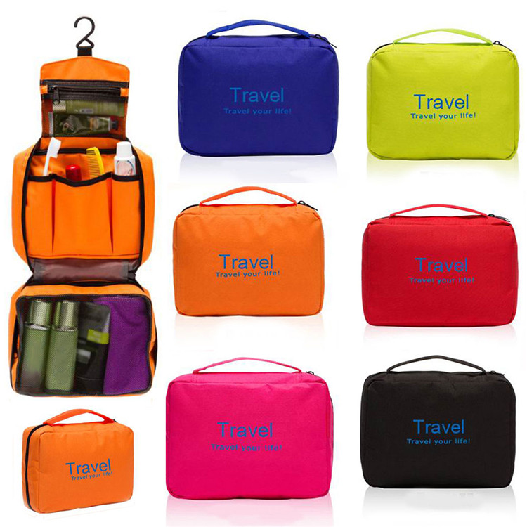 Oxford toiletry bag travel portable