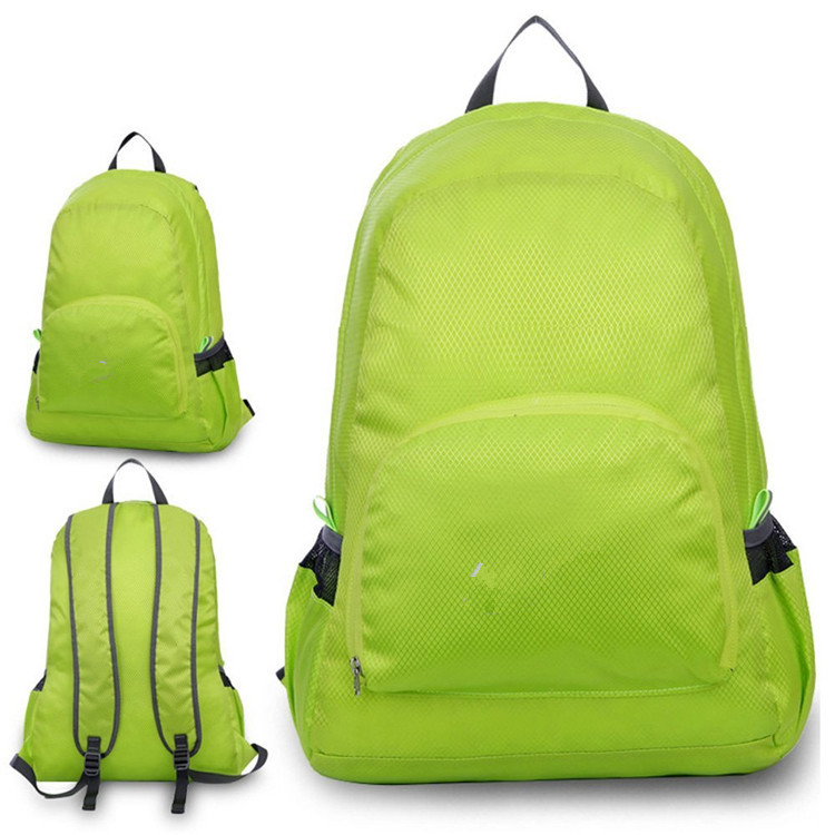 Nylon foldable backpack-02