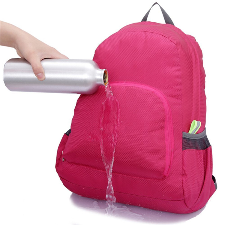 waterproof Nylon foldable backpack