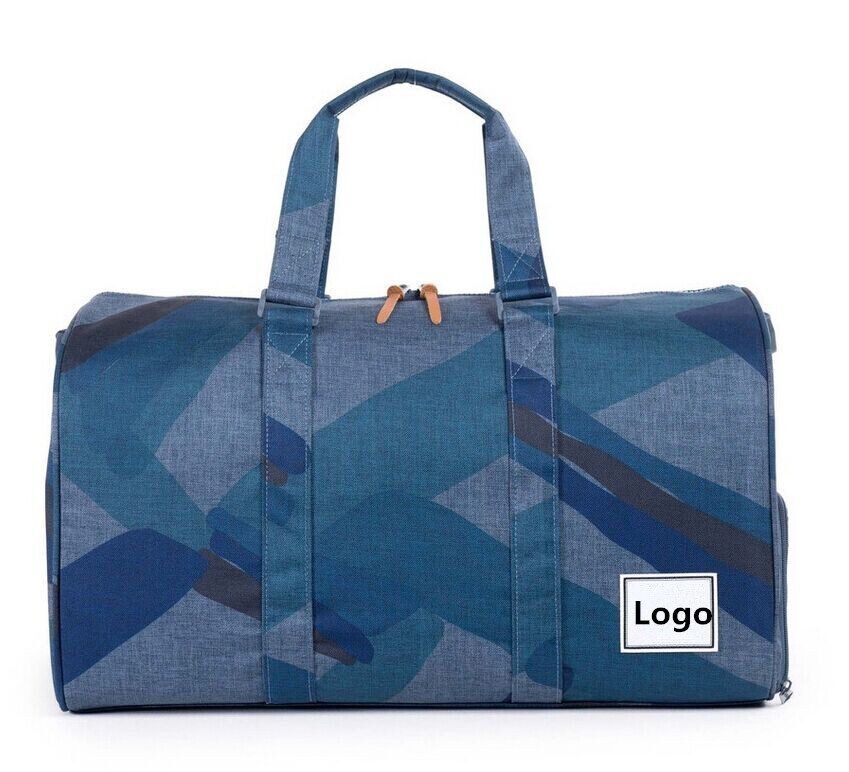 Custom polyester duffle bag