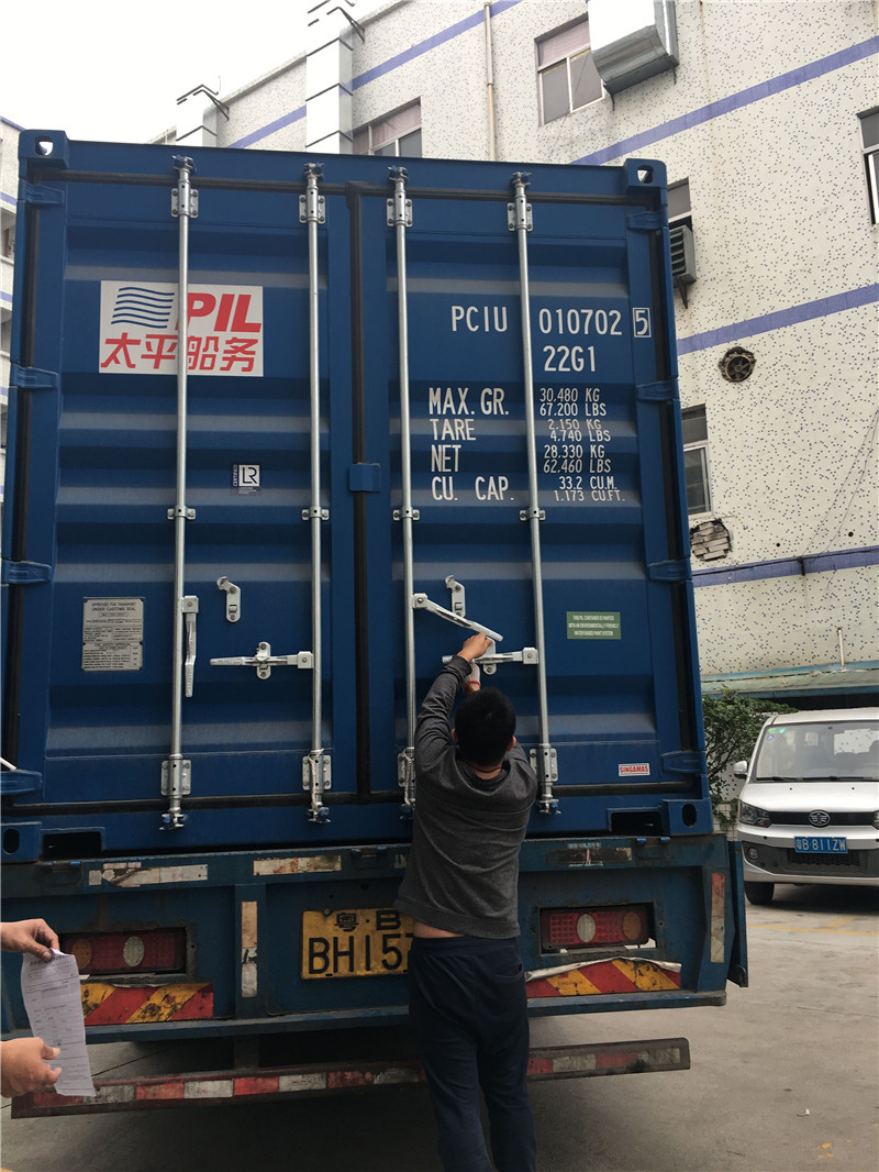 Loading container 016