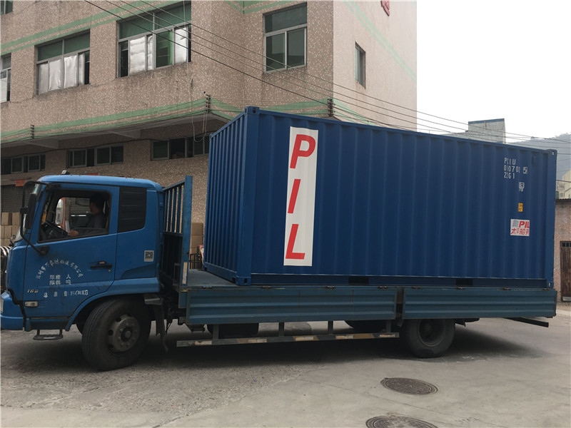 Loading container 018