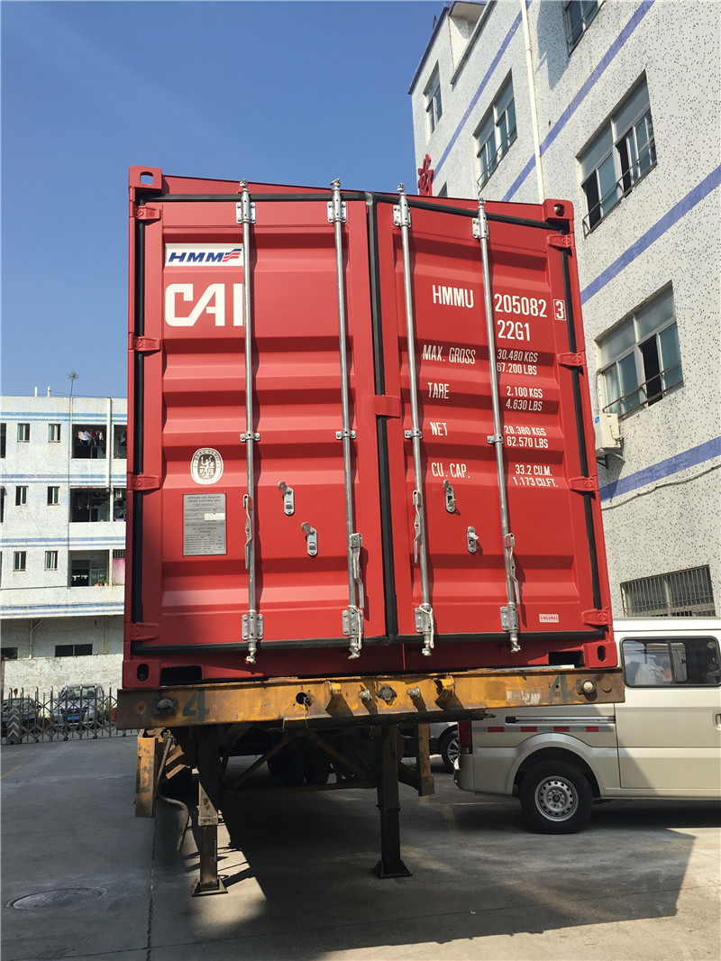 Loading container 021