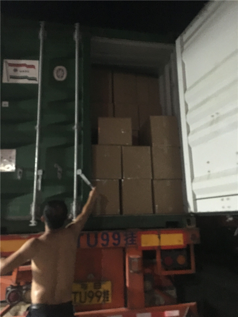 Loading container 027