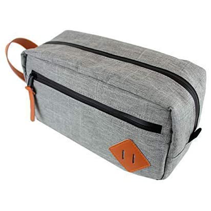 Travel toiletry stash pouch smell proof case bag