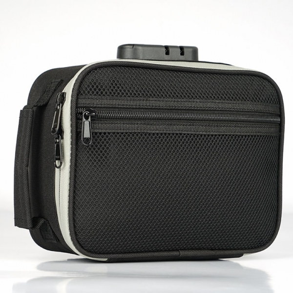 Travel carbon lining smell proof case for weed