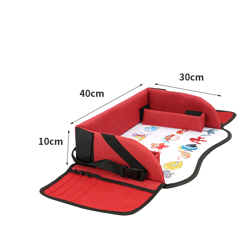 Red travel tray 01