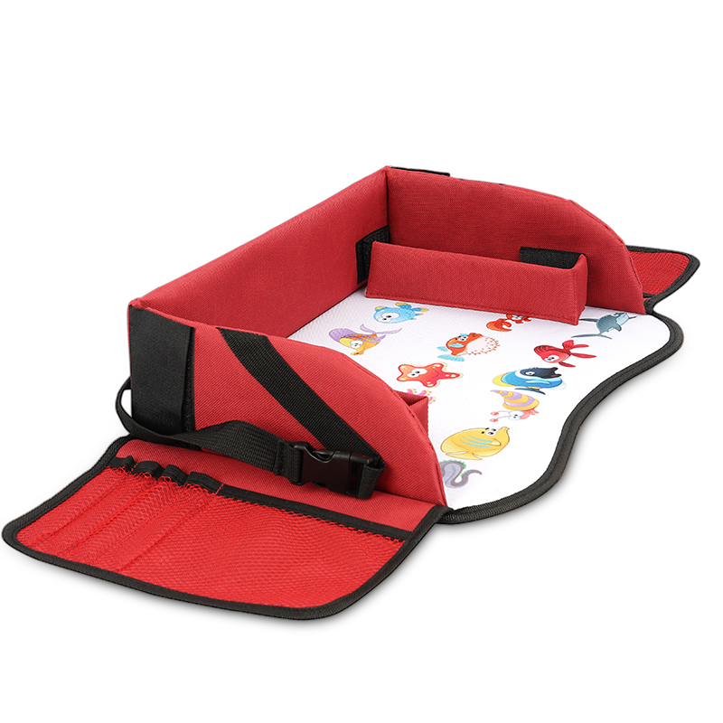 Red travel tray 05