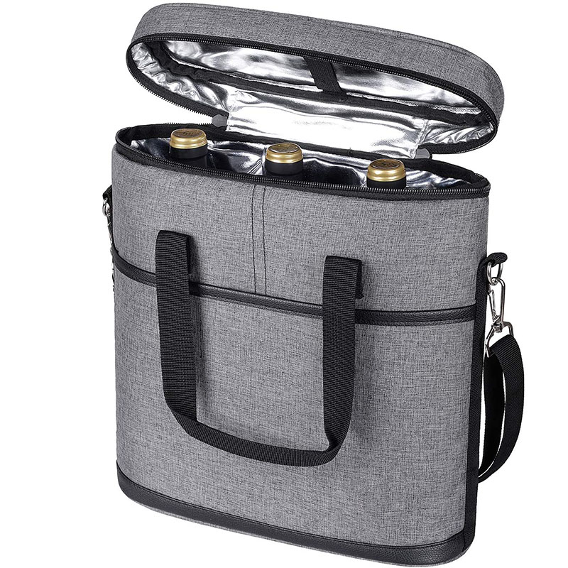 Wine Carry Cooler Tote Bag
