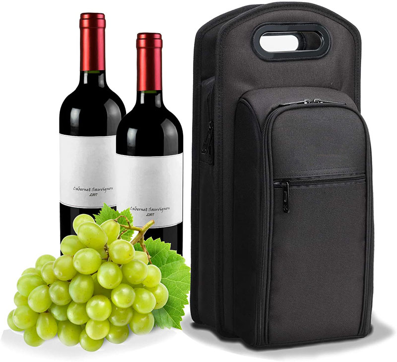 Wine Carrier Tote Carrying Cooler Bag