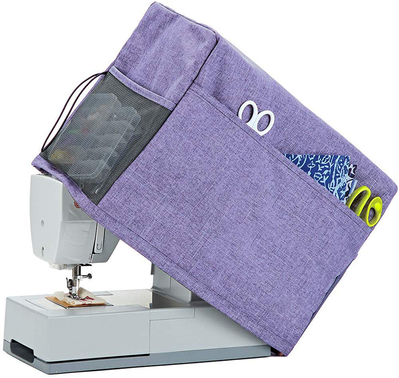 Foldable sewing machine cover